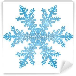 Vinylová Fototapeta Eisblume, sníh křišťál, křišťál, led, námraza, symbol, znak