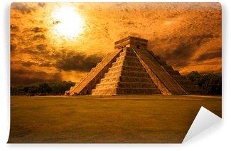 Vinylová Fototapeta El Castillo (chrám Kukulkan) Chichén Itzá, Mexiko