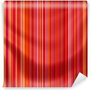 Vinylová Fototapeta Elegantně plynoucí saténová tkanina s retro pruhy