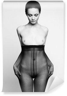 Vinylová Fototapeta Elegantní žena v punčocháčích
