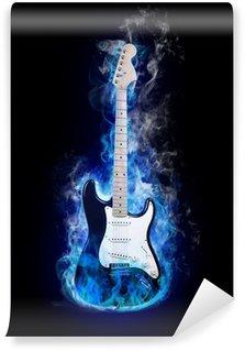 Vinylová Fototapeta Elektrická kytara