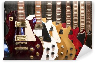Vinylová Fototapeta Elektrické kytary