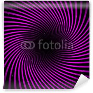Vinylová Fototapeta Endless růžová víření výše hvězdného pole