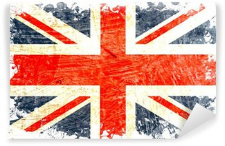 Fototapeta Winylowa English flag DECOUPE