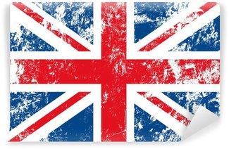 Fototapeta Vinylowa English flag noszone