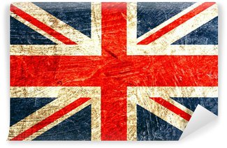 Fototapeta Winylowa English flag