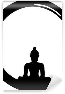 Vinylová Fototapeta Enso Zen, meditace, Buddha