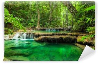 Vinylová Fototapeta Erawan Waterfall