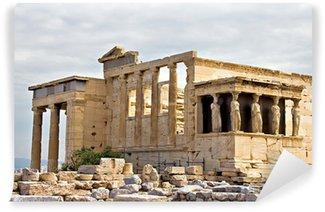 Vinylová Fototapeta Erechtheum chrám ruiny v Akropoli