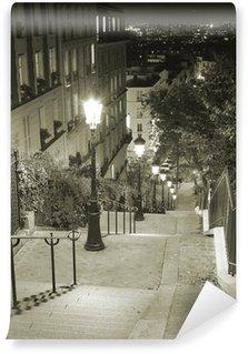 Vinylová Fototapeta Escalier Montmartre