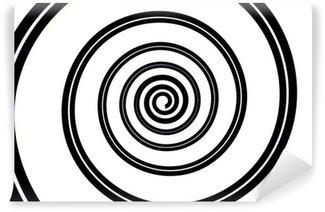 Fototapeta Winylowa Espiral negro