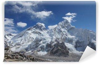Vinylová Fototapeta Everest vrcholky hor pohled z Kala Pattar, Nepál