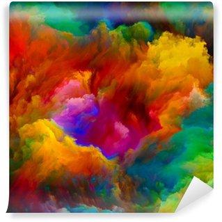 Vinylová Fototapeta Explodující Color