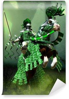 Vinylová Fototapeta Fantasy zelený rytíř