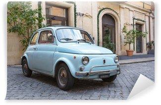 Vinylová Fototapeta Fiat 500 v ulicích Říma