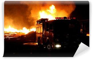 Vinylová Fototapeta Firetruck a požární