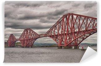 Vinylová Fototapeta Firth of Forth Bridge, Skotsko, Velká Británie