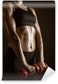 Vinylová Fototapeta Fitness cvičení