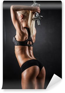Vinylová Fototapeta Fitness s činkami