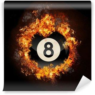Vinylová Fototapeta Flame 8 Ball