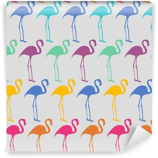 Vinylová Fototapeta Flamingos