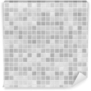 Vinylová Fototapeta FLIESEN grau šedá dlažba