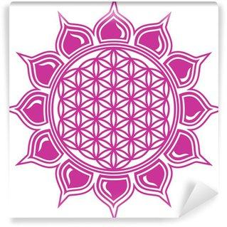 Vinylová Fototapeta Flower of Life / Lotus Blossom