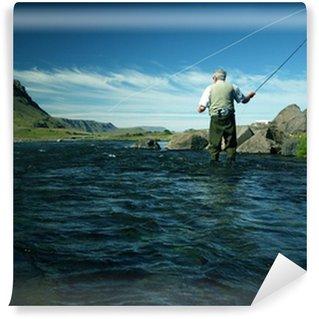 Vinylová Fototapeta Flyfishing