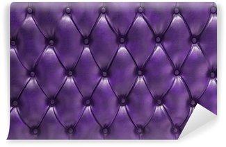 Vinylová Fototapeta Fond fialová čalouněné prošívané přírodní Cuero