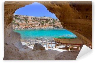 Vinylová Fototapeta Formentera Cala en Baster na Baleárských ostrovech ve Španělsku