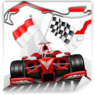Vinylová Fototapeta Formule 1 GP Monaco