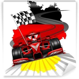 Vinylová Fototapeta Formule 1 GP Německa
