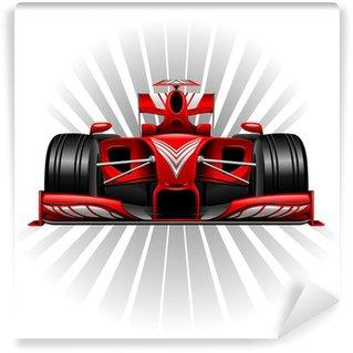 Vinylová Fototapeta Formule 1 Red závodní auto