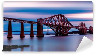 Vinylová Fototapeta Forth Bridge Edinburgh