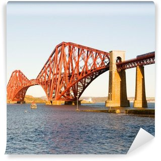 Vinylová Fototapeta Forth Bridge ve Skotsku