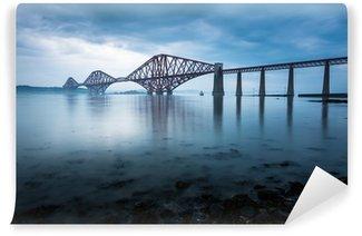 Vinylová Fototapeta Forth mosty v Edinburghu, Skotsko