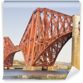 Vinylová Fototapeta Forth Rail Bridge, Edinburgh, Skotsko
