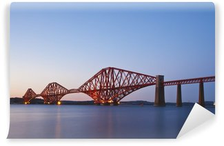 Vinylová Fototapeta Forth Rail Bridge přechod mezi Fife a Edinburghu, scotl