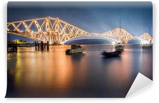 Vinylová Fototapeta Forth silniční most v noci