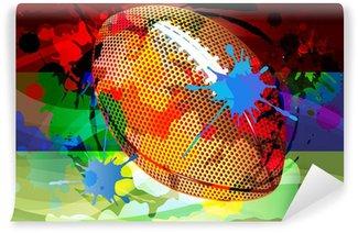 Vinylová Fototapeta Fotbal abstraktní pozadí vektor
