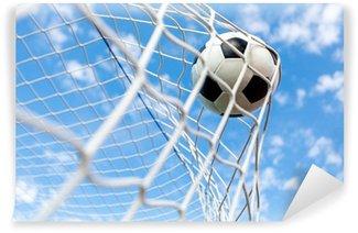 Vinylová Fototapeta Fotbal, cíl, fotbalový míč.