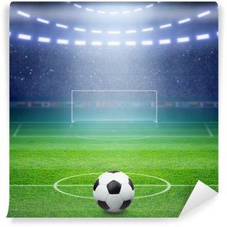 Vinylová Fototapeta Fotbalový stadion