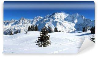 Vinylová Fototapeta Francie - Mont Blanc (při pohledu z Prarion)