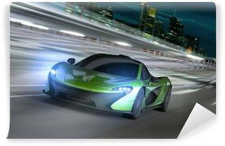 Fototapeta Vinylowa Frankfurt noc racer
