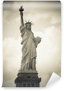 Vinylová Fototapeta Freiheitsstatue v New Yorku, černobílých
