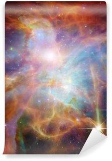 Fototapeta Winylowa Galactic Space__Elements tego zdjęcia dostarczone przez NASA