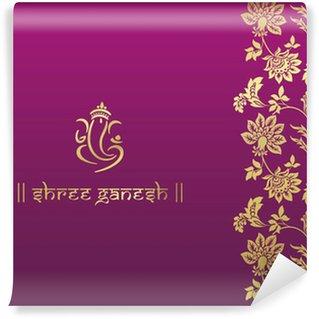 Vinylová Fototapeta Ganesha, svatební oznámení, Royal Rajasthan, Indie