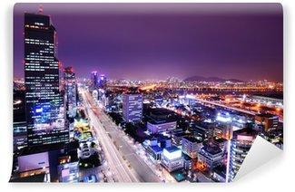 Vinylová Fototapeta Gangnam okres Soulu, Jižní Korea