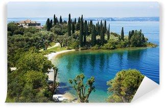 Vinylová Fototapeta Garda Lake Resort v Itálii