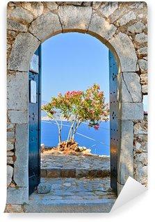 Vinylová Fototapeta Gate v Palamidi pevnost, Nafplio, Řecko